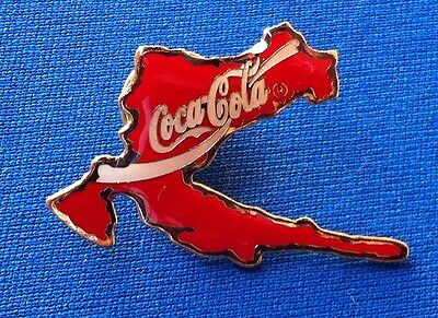 COCA COLA CROATIA - Very rarre pin badge, Premier Promotions, Made in China !