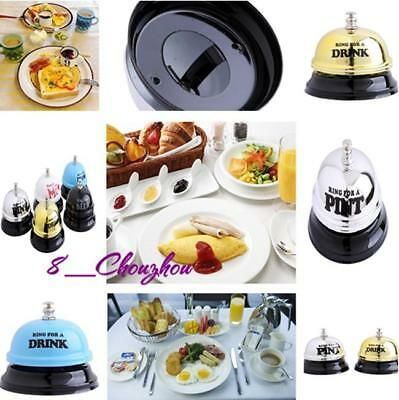 Novelty Desk Table Bell Ring for a Beer Funny Toy Gag Gifts Party Supplies C