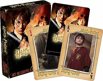 Harry Potter Chamber Of Secrets set of 52 playing cards (+ jokers) (nm 52416)