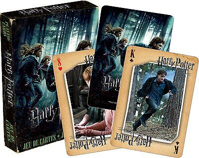 Harry Potter Deathly Hallows Pt 1 set of 52 playing cards (+ jokers) (nm 52421)