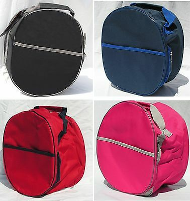 NEW Rhinegold Riding Hat Helmet Bag 4 colours ideal Tack Room Travelling Storage