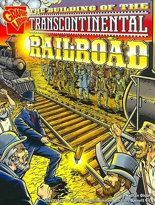The Building of the Transcontinental Railroad by Nathan Olson Paperback Book (En