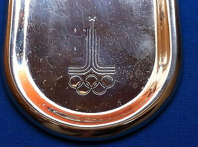 XXII Olympic Games Moscow 1980 Old vintage Plaque - RARRE !