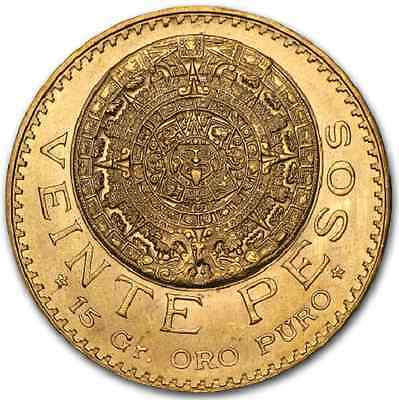 MEXIQUE 20 Pesos Or 1959