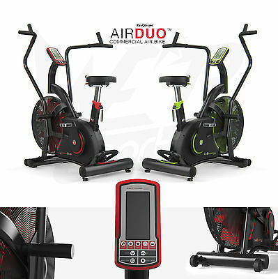 Commercial Exercise Bike Air Bike Dual Action Full Body Gym Crossfit Workout
