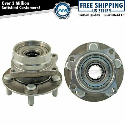 Front Wheel Hub & Bearing Assembly Pair Set for 04-09 Prius