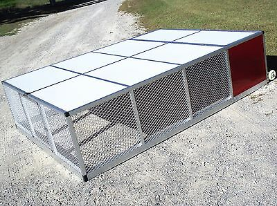 Large Rite Farm Products Lifetime Series Mobile Broiler Pen Coop Poultry Chicken