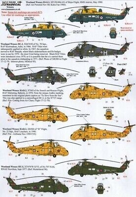 Xtradecal X48111 1/48 Westland Wessex HC.2 Model Decals