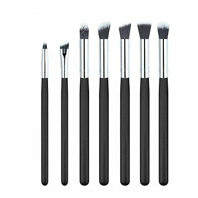 Pro 7pcs Makeup Brush Set Powder Foundation Eyeshadow Eyeliner Lip Brushes Tool