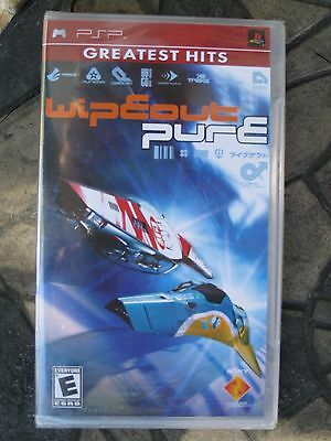 Wipeout Pure (Sony PSP, 2005) - New