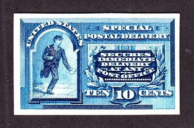 US E2P4 10c Special Delivery Proof on Card XF SCV $30