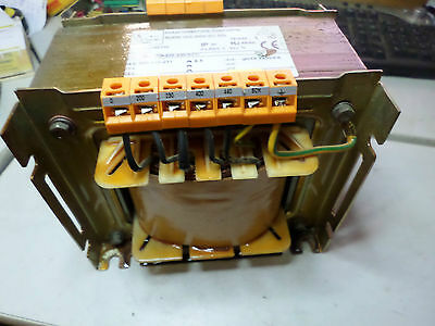 TRANSFORMER SINGLE PHASE 1500VA -  OUTPUT 209-220-231 6.8amp MULTI-TAP INPUT