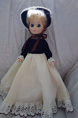 "1974 Vogue Doll- 14"",Vinyl,Blond,Victorian-Type Outfit- VG- BEAUTIFUL FACE- SALE"