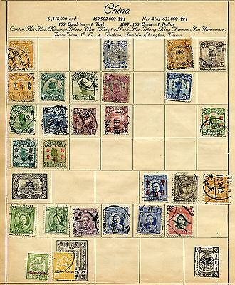 Lot Of China, Japan, India, Hong Kong, Commonwealth Used Stamps As Shown