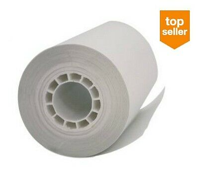 "48 Rolls FIRST-DATA FD400 THERMAL CASH REGISTER POS RECEIPT PAPER  2-1/4"" x 42'"
