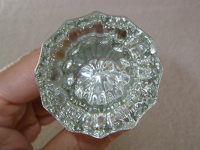 Antique Clear Rare Glass Door Knob