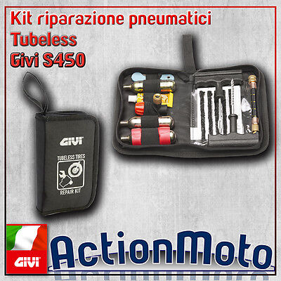 Repair Kit tires tyres Tubeless drilling motorcycle scooter Givi s450