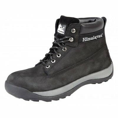 Himalayan Mens Work Boots 5140 black safety work boots 6-12