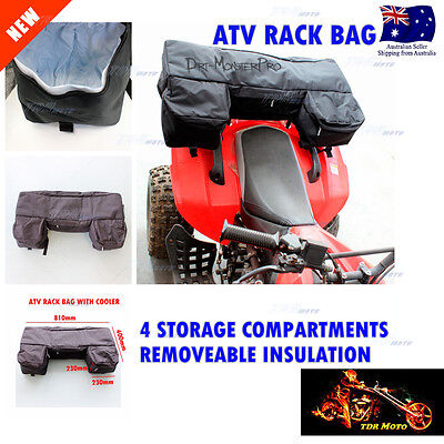 ATV Rack Bag Cargo Storage Seat Luggage for Capmping Hunting Farm MX Motor Sport