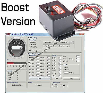 Amethyst Boost Turbo mappabile accensione elettronica sistema w integrato/
