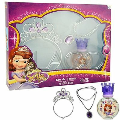 Sofia Coffret Profumo Edt Con Collana E Corona - 30Ml Per Bambini Cartoon
