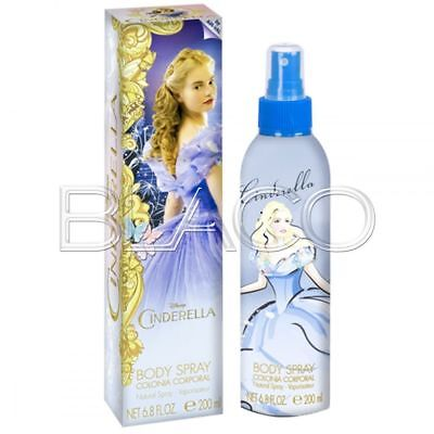 Cenerentola Colonia Body Spray - 200Ml Profumo Per Bambini Cartoon