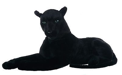 "33"" (84 cm) Large Black Panther Wild Real Life Features Soft Toy  Plush  48669X"