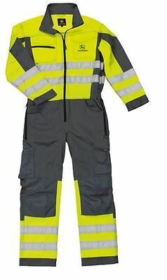 John Deere Work Overalls High Visibility Class 3 Extra Large