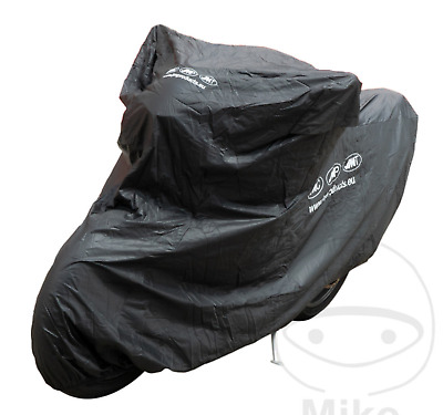 JMP Universal Motorcycle Cover 500cc Soft Interior PVC All Weather Waterproof