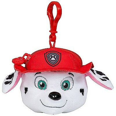 Paw Patrol Marshall Money Coin Purse Wallet Head with Keyring Cartoon Character