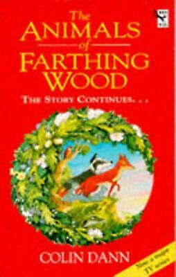 The Animals of Farthing Wood by Colin Dann Paperback Book