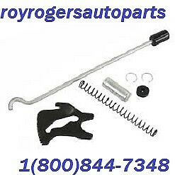EMPI 4549 CHROME EMERGENCY BRAKE HANDLE KIT TYPE 1 56-79 VW BUG BUGGY RAIL GHIA
