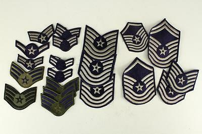 Vintage WWII Korea Military Lot US AIR FORCE Insignia MOS Uniform Patches