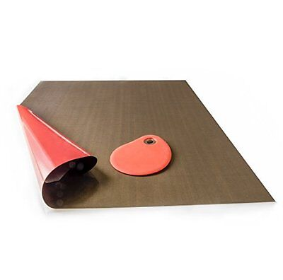 Dough Scraper with Non-Stick Baking Mat Perfect for Regular or Gluten Free No or