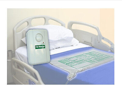 Smartcare Bed Alarm and Long Term Bed Sensor Pad With AC Adapter, NEW, FREE SHIP