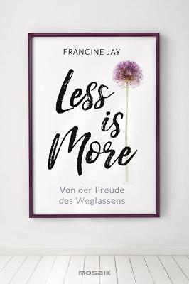 Less is More - Francine Jay - 9783442393077 PORTOFREI