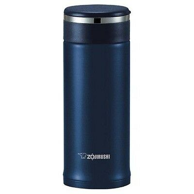 Zojirushi SM-JTE34AD Stainless Steel Travel Mug with Tea Leaf Filter, 325ml/0.34