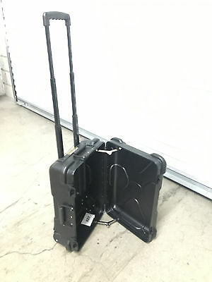 SKB Pull Handle Case without Foam - 3SKB-1812MR Rolling Handle w Wheels Trunk