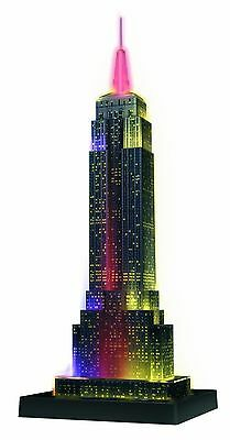 Ravensburger Empire State Building 3d Puzzle With Lights NEW