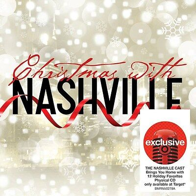 Christmas With Nashville Audio CD Various Artists Target Exclusive NEW