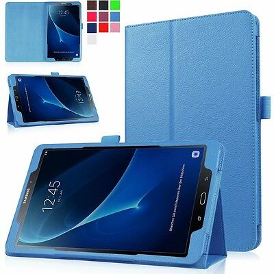 "Smart Flip Leather Stand Case Cover For Samsung Galaxy Tab A6 7"" 9.7"" 10.1"" E"