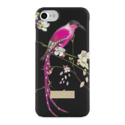 fffccafda0b6 OFFICIAL TED BAKER MIREILL Soft-Feel Hard Shell for iPhone 7 Black Also  Fits 6S
