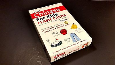 Tuttle Chinese for Kids Flash Cards Vol 1 Polyglot Language Learning Homeschool