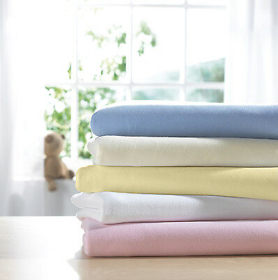 Jersey Fitted Sheet 100% Cotton Single Small Double Super King Bunk Cot Crib