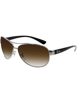 Ray-Ban Men's Gradient Active RB3386-004/13-63 Black Aviator Sunglasses