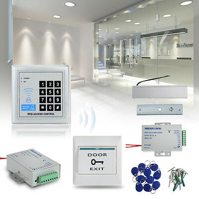 RFID Door Lock Magnetic Entry Access Control Password System Electric Kit Set UK