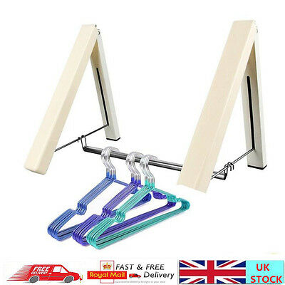 Wall Mounted Clothes Airer Instahanger Laundry Drying Rack Indoor Line Dryer