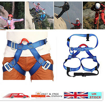 Harness Seat Belts Safety Rock Climbing Height Rappelling Equipment Load 1000KG
