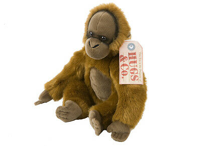 "12"" (30 cm) Real Lifelike Hugs & Co Orang-utan Soft Plush 345-207"
