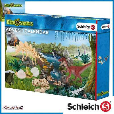 Schleich 2016 Dinosaurs Advent Calendar with Figures Stickers and Accessories